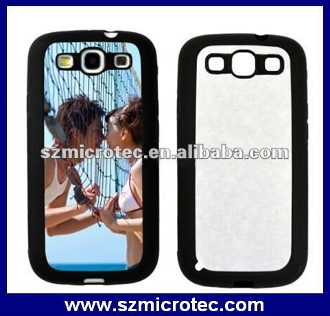 Sublimation Phone S3 I9300 Cover, MT-SP03BK