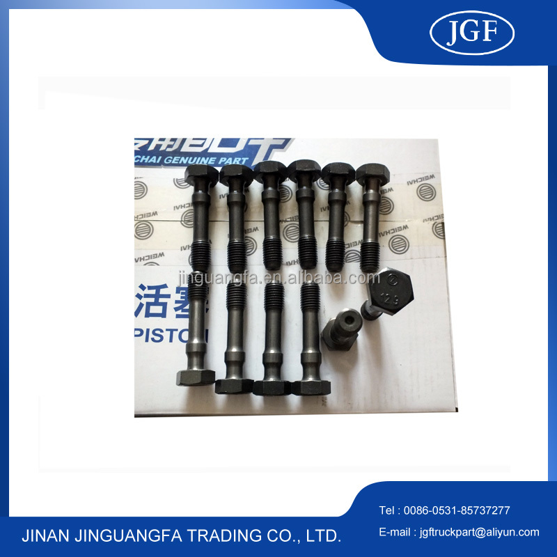 weichai deutz 226B engine parts Connecting rod bolt 12167047 for bus marine generator equipment used