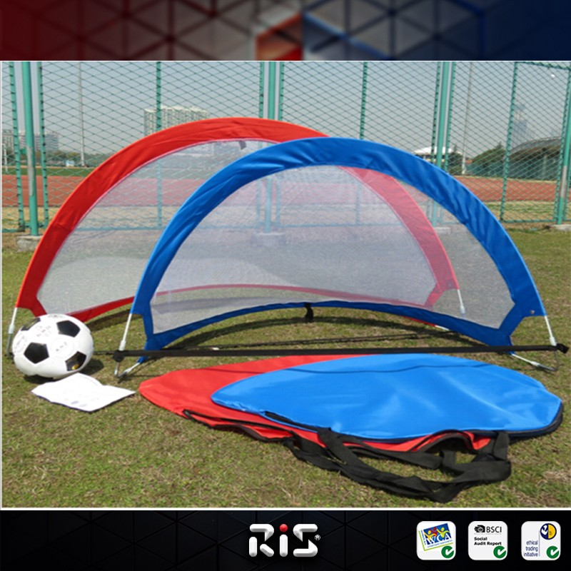 pop up fibreglass soccer goal