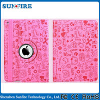 for ipad mini 4 stand case 360 rotating tablet case cover