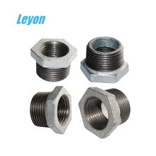 "galvanized bushing malleable iron pipe fittings BSP 1/8"" - 4"""