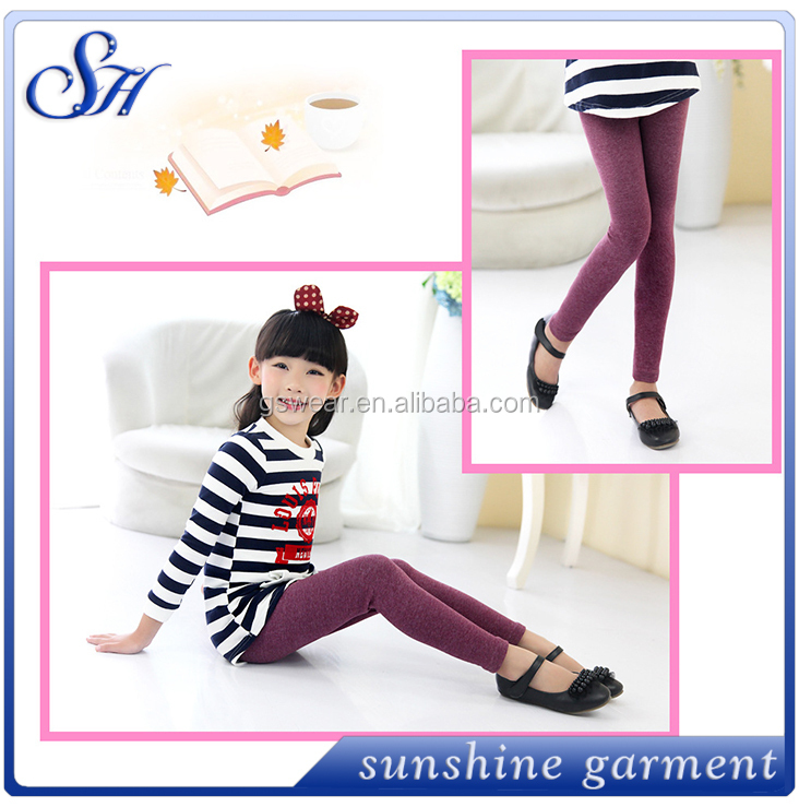 2015 fashion /fitness/fabric leggings for kids