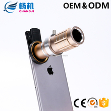 Hot selling Universal Camera Lens 12X Telescope Zoom Telephoto Lens for Smartphone With Tripod