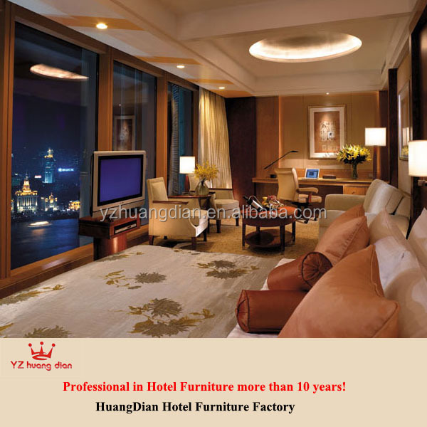 Hotel project supplier 5 star hotel room furniture YCR86