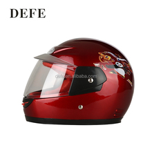 Colorful motorcycle helmets cartoon kids full face helmet