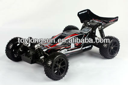 2.4G 1/10 Scale Brushless Electric Powered Off-Road RC Buggy 4X4wd