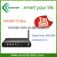 Quad core TV box, Android Mini pc CX-950