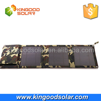 High quality solar panels in foldable design mobile phone power bank charger