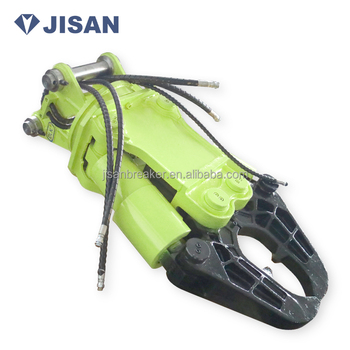 hydraulic shear for excavators korean technology