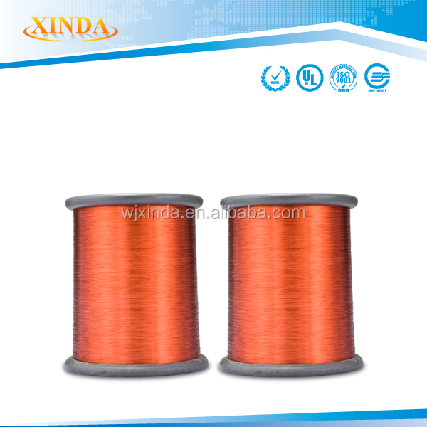 Motor winding wire size class enameled aluminum wire ship by carton