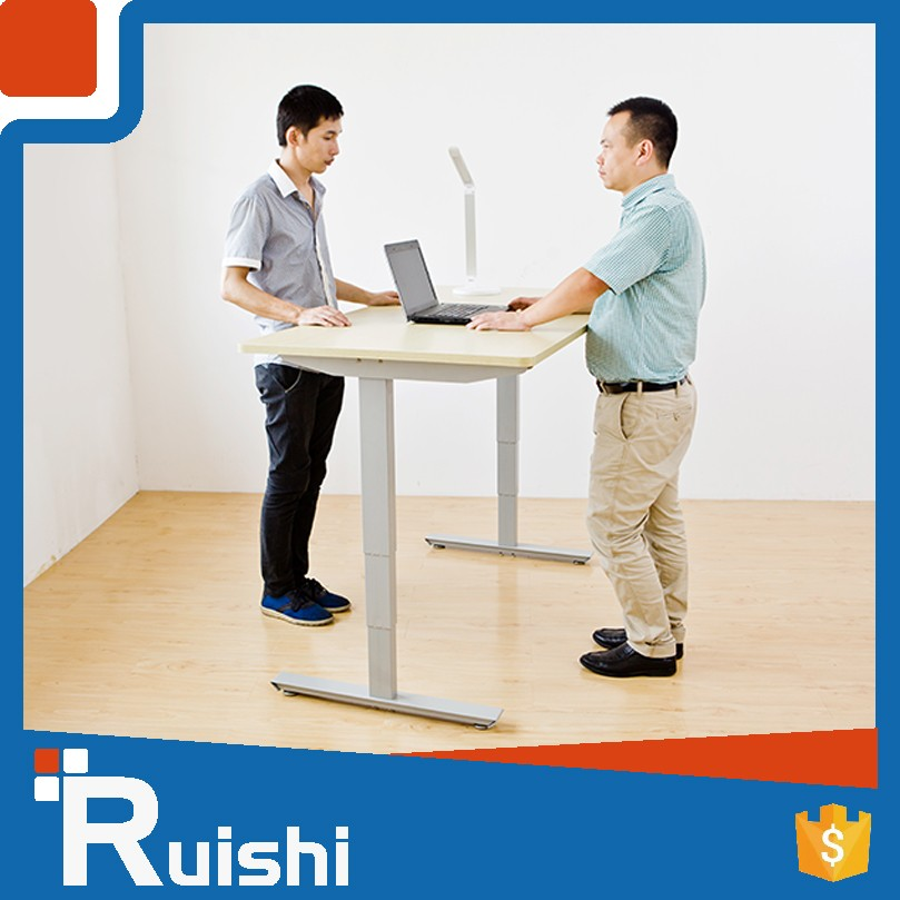 Wholesale Electric Height Adjustable Office Executive Table Pictures