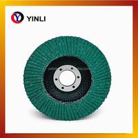 abrasive sanding paper flap/wheel discs for inox
