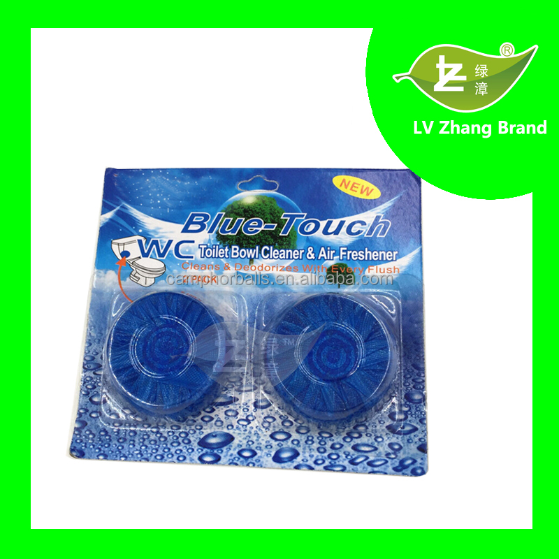 50g*2 creative comfortable blue-touch Toilet Cleaning Detergent,Toilet Deodorizer toilet bowl cleaner