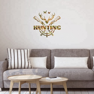 living Room Wall Decoration Adhesive Vinyl Die Cut Stickers