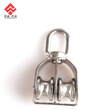 Stainless Steel Double Wheel Pulley Block