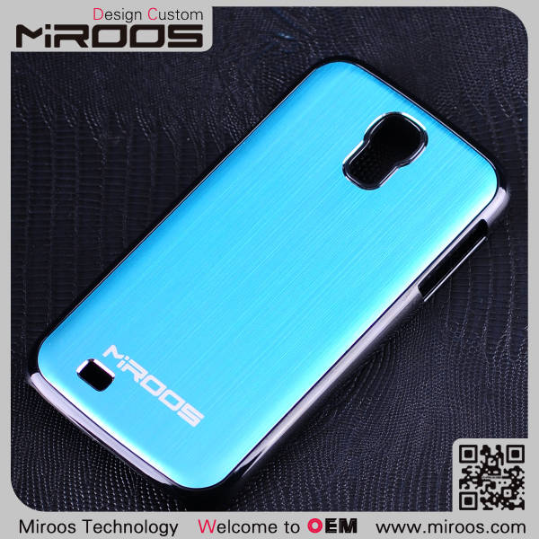 aluminum brushed metal back case for samsung galaxy s4