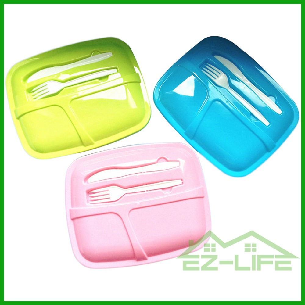plastic food carrying food storage box FDA safe cute lunch container for kids