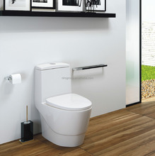 Ceramic toilet, floor / wall, one-piece / close coupled, dynajet / dynawash, rough-in