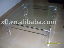 Modern Office acrylic square table,fashion coffee table