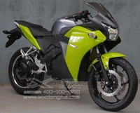 6000W sporty electric motorcycle with top speed 100km/h