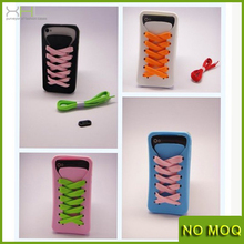 NEW CUTE SILICONE CASE FOR IPHONE 5 & 5S + 2 FREE LACES