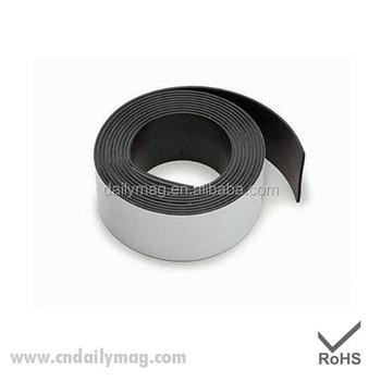 "Professional Grade Magnetic Tape 1"" x 15 Feet - Incredibly Strong & Flexible - Peel & Stick Adhesive Backing - Easy to Cut"