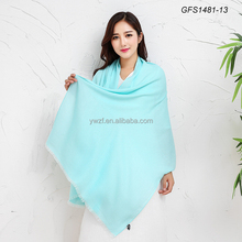 2017 winter new style cotton material solid color shawl scarf