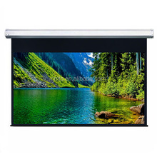 120 inch projection screen electric/manual 4:3/16:9