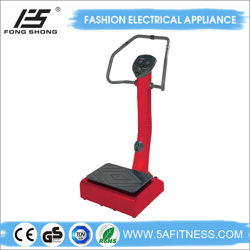 2015New designs of fitness vibration plate vibration exercise machine review with CE,ROHS and GS