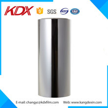 Thermal Laminationg Film Type Silver Metallic Pet Mylar Film For Coated Paper