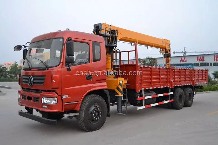 gauche droite dongfeng ch ssis 6 4 camion avec grue 10 tonnes vendre grues de camion id de. Black Bedroom Furniture Sets. Home Design Ideas