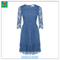 Fashion western party wear chiffon maxi dresses for women