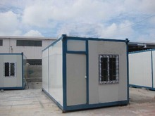 china supplier affordable low cost modular military camp container house