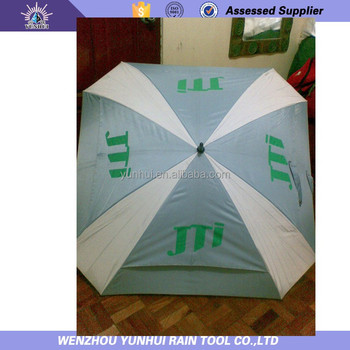 Double tier golf wind resistant umbrella buy wind for Wind resistant material