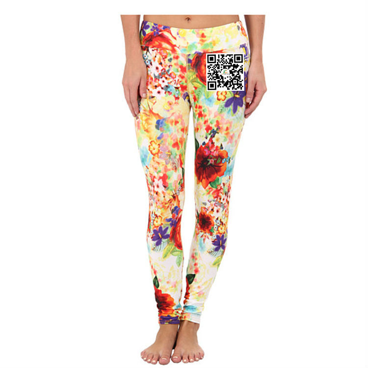 Wholesale With Fashion Legging Custom Made Dye Sublimation Women Tight Pants Lady Sex Legging Pants