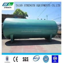 Stainless steel lpg horizontal methane gas storage tank
