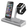 MFi Power Station Charging Docking for iPhone MFi Aluminum Apple Watch Stand and Extra Dual USB Port to Charge Other Device 41W
