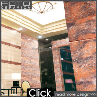 Porcelain ceramic faux stone wall tile 60x60