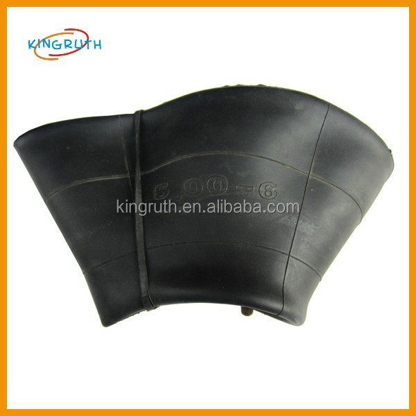 High quality black new motorbike inner tube for 500-6