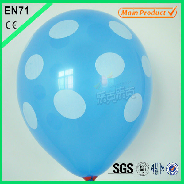 summer toys balloon latex for christmas and happy new year