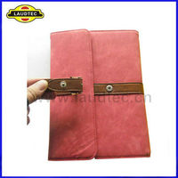 Book Style Leather Case with Belt for Ipad mini
