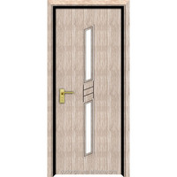 Hot sale wood doors pockets with heat transfer printing surface wuitable for container house