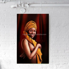 world art group african women oil painting