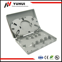 4 Port Fiber Optic Mounting Box