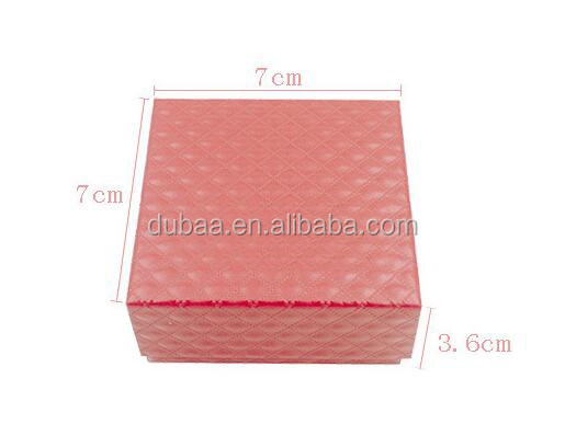 High Quality Hot Fashion Jewelry Set Gift Box Simple Bracelet Rings Necklace Square Paper Packaging box