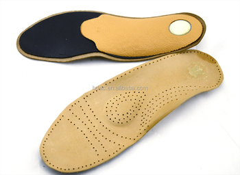 TPR sheet orthotic arch support latex insole leather