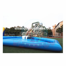 slide combo inflatable water park for outdoor playground