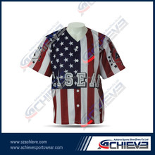 cheap custom full dye sublimation Baseball Jerseys dry fit youth man baseball uniforms