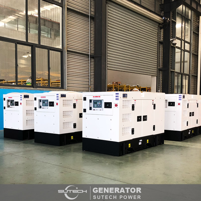 home use single phase 24kw diesel generator set price with Yangdong engine Y495D