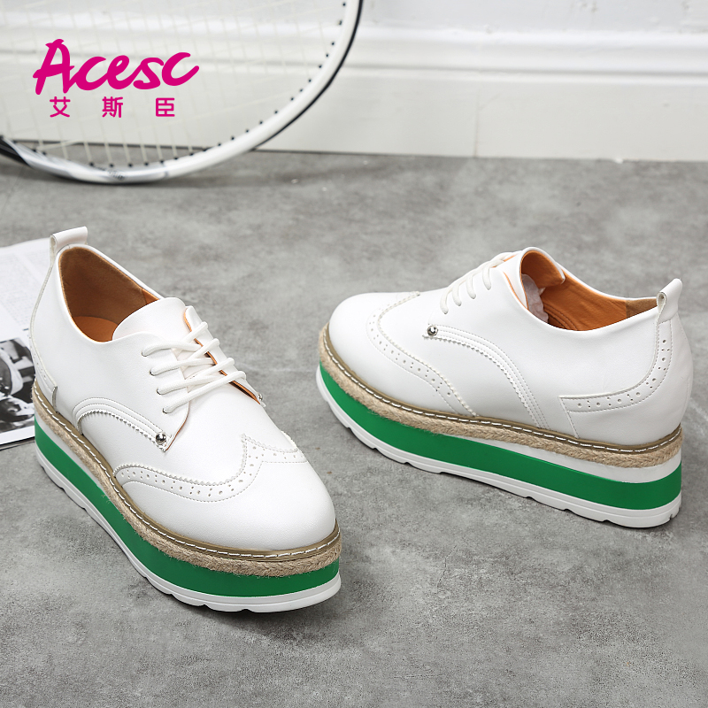 White Flat Breathable Summer Shoes Women Casual